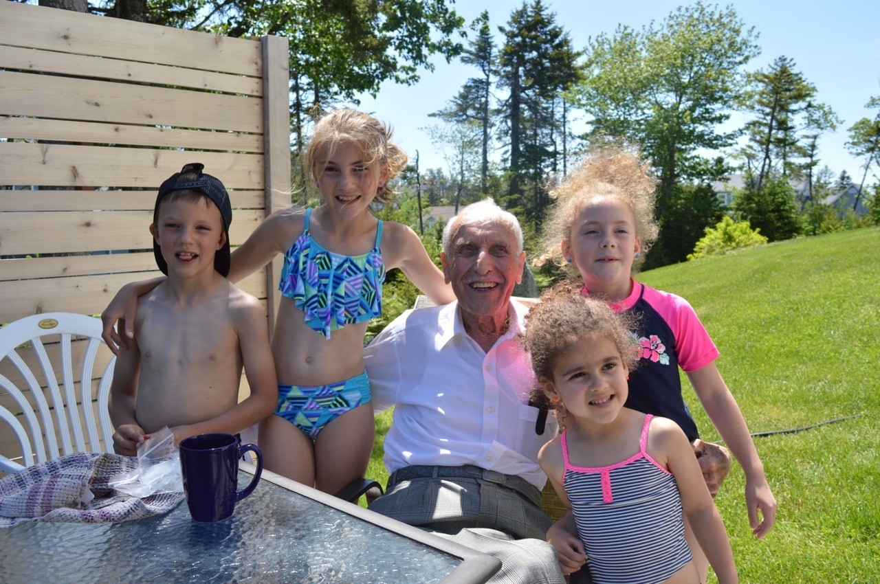 I love my great granddad and my cousins