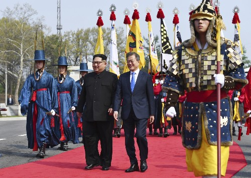 Historic Korean Summit in Pictures