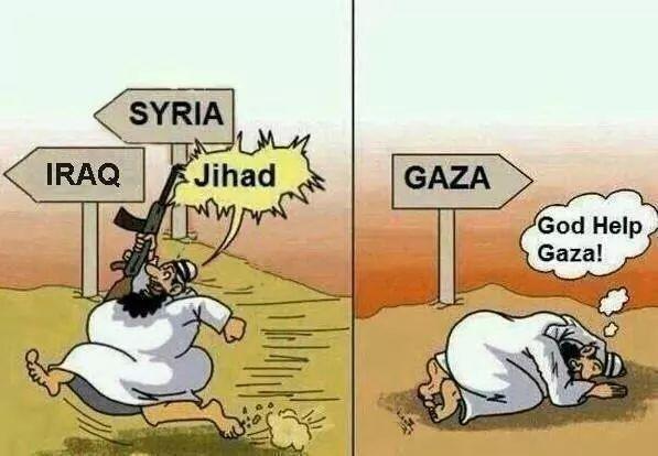 Arabs' Double Standard