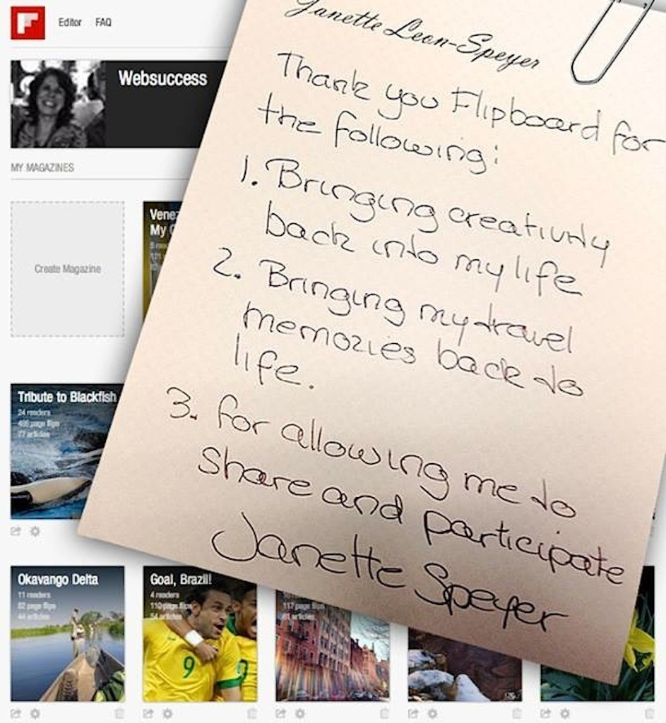 We're Thankful for Our Terrific Flipboard MagMakers