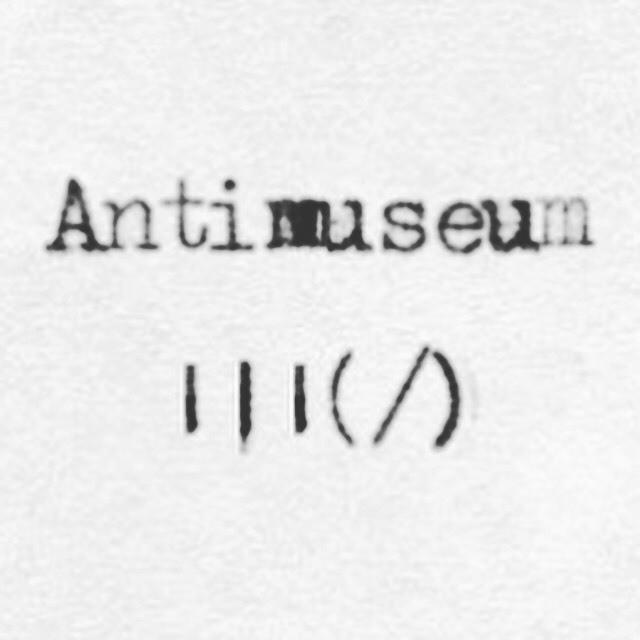 Antimuseum MONO Exhibit - Magazine cover