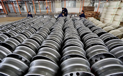 China dumped steel wheels on U.S. market: Commerce Dept