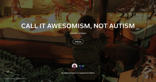 """""""If You've Met One Child With Autism, You've Met One Child With Autism""""—AwesomismMom's Quest to Make Things Better"""