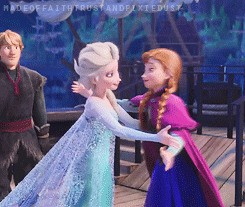 This is Elsa and Anna.