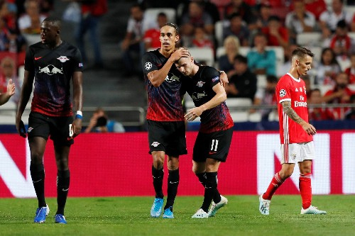 Soccer: Werner's second-half double for Leipzig sinks Benfica