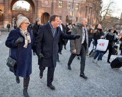 Social Democrat Lofven wins Swedish PM race as populists left in cold