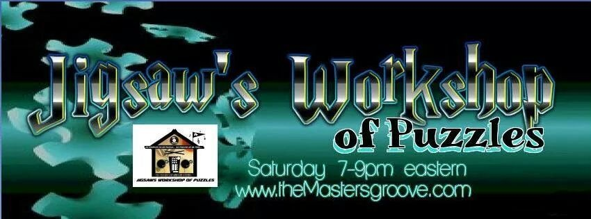 """This Saturday night April 19, 2014 DJ Jigsaw Workshop of Puzzles radio is live on from 7 pm-9 pm est. the """"Jesus take the wheels of steel show"""" tune in through the app on either Android apps on Google Play or for iPhone family"""
