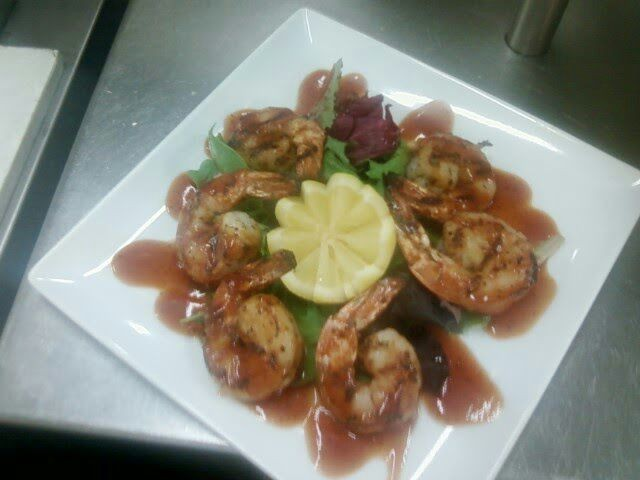 Barbeque shrimp