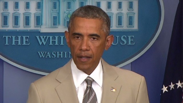 Obama: No 'strategy yet' for ISIS in Syria
