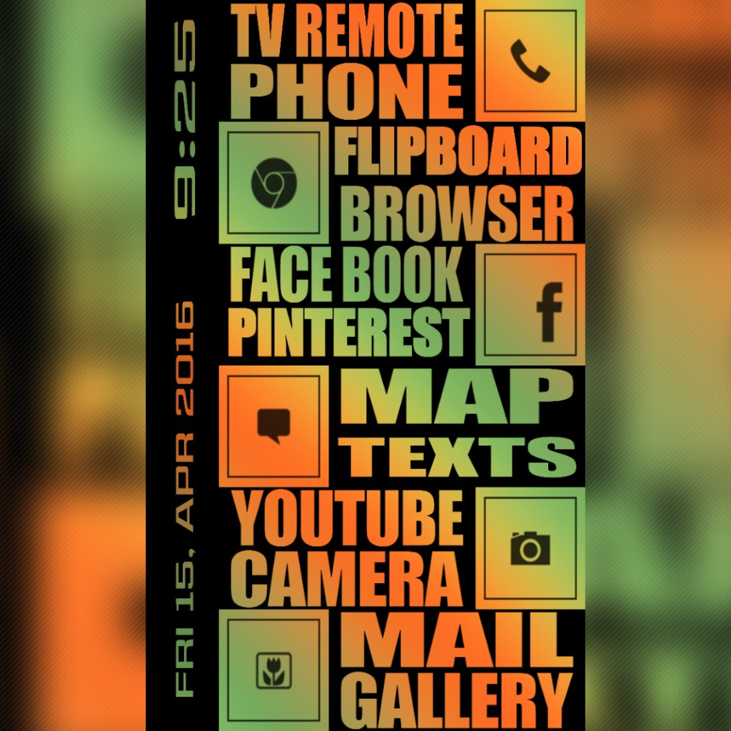 Buzz Launcher Themes - Magazine cover