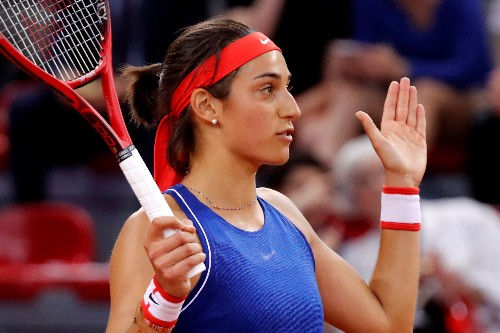 Tennis: Garcia sets up Yastremska final in Strasbourg International