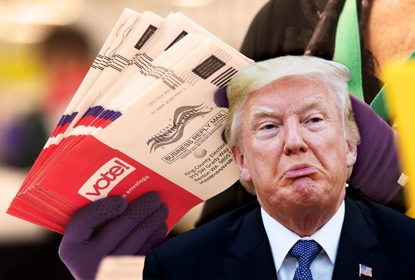 Donald Trump, the Postal Service and November's election