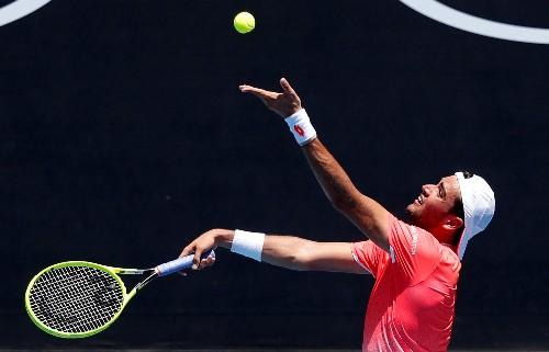 Tennis: Berrettini eases past Struff in Stuttgart, to face Auger-Aliassime in final