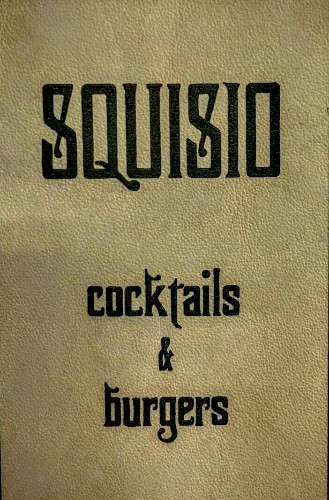 SQUISIO cocktails & burgers - Magazine cover
