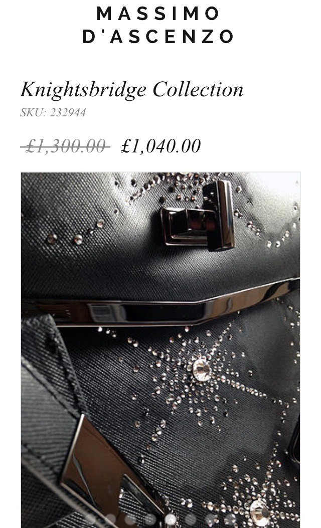 'MD' Massimo D'ascenzo Beautiful Luxury Jewellery Handbags. For limited period only. Knightsbridge Collection. Quality craftsmanship Details... www.massimod.com #luxury#jewellery#handbags#love#fashionAddict.