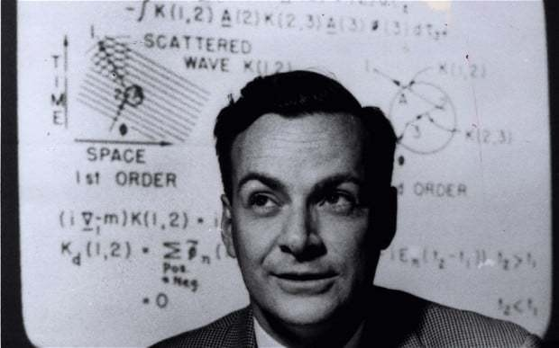 Richard Feynman: Life, the universe and everything