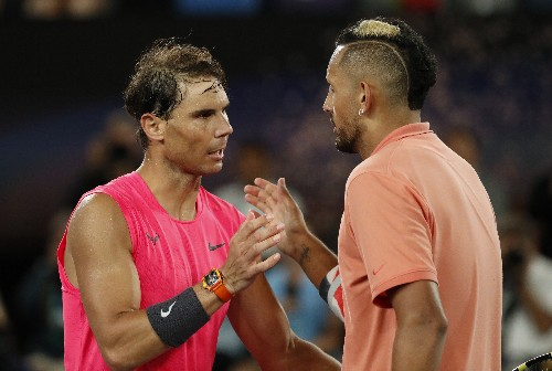 Tennis: Nadal rides out Kyrgios challenge to reach quarter-finals