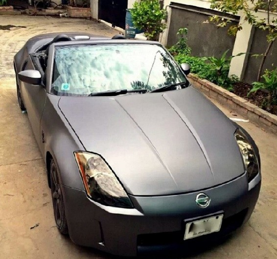 Wrapped nissan 350z in Islamabad