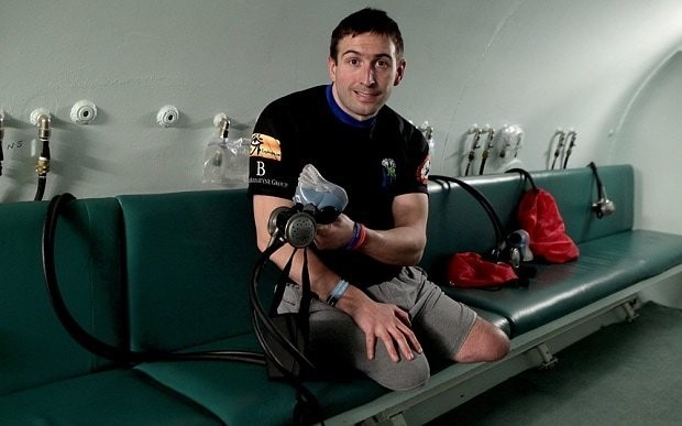 Britain's most injured surviving serviceman makes amazing recovery
