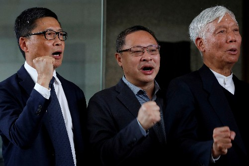 Hong Kong's 'Occupy' leaders face possible jail for 2014 democracy protests
