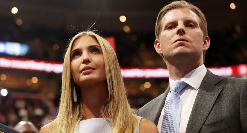 Eric Trump: Ivanka wouldn't allow herself to be subjected to sexual harassment