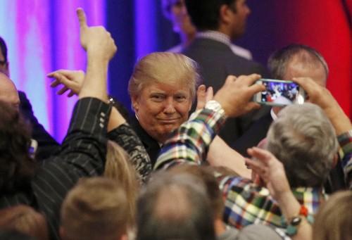 Trump Romps, Hillary Wins, Bush Bails: Pictures