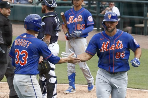 Spring training roundup: Mets' Tebow hits first spring homer