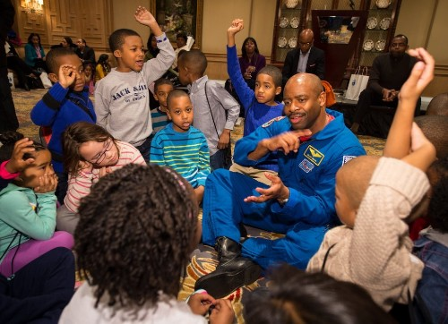 Going to Space and Talking STEAM with Astronaut Leland Melvin