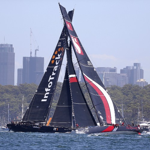 The Start of the Annual Sydney to Hobart Yacht Race: Pictures