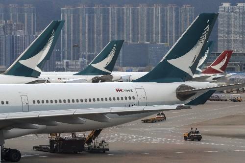 Hong Kong's Cathay says September passenger traffic slumps