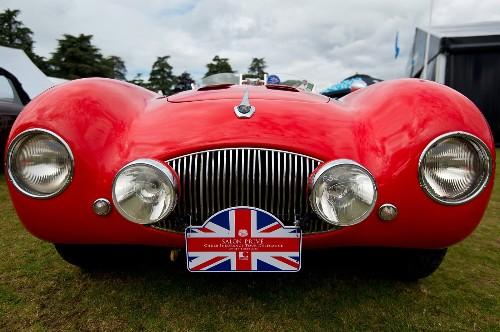Luxury Cars on Display in UK
