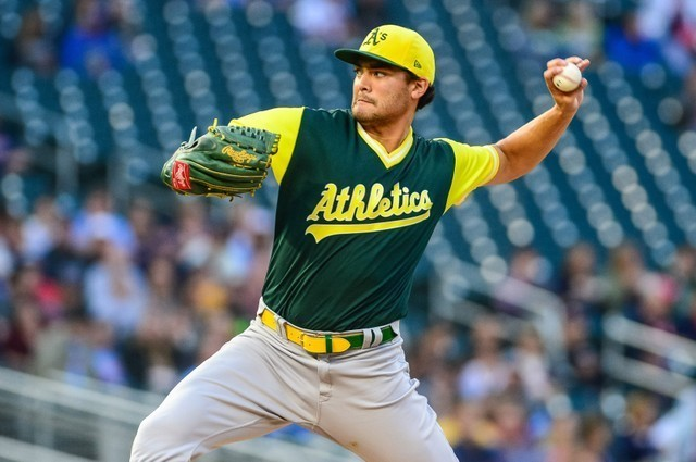 A's left handed pitcher Manaea could miss 2019 after shoulder surgery