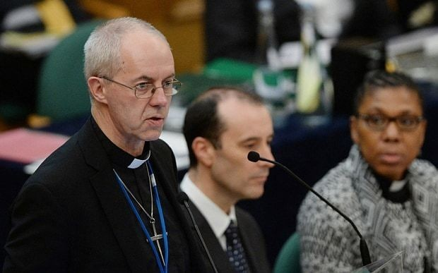 Welby warns offering asylum to Christians could 'drain' Middle East of 2,000-year-old communities