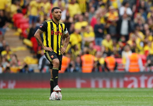Soccer: Watford's Deeney ruled out for 'several weeks' after knee surgery