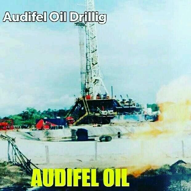 Oil Drilling - Magazine cover