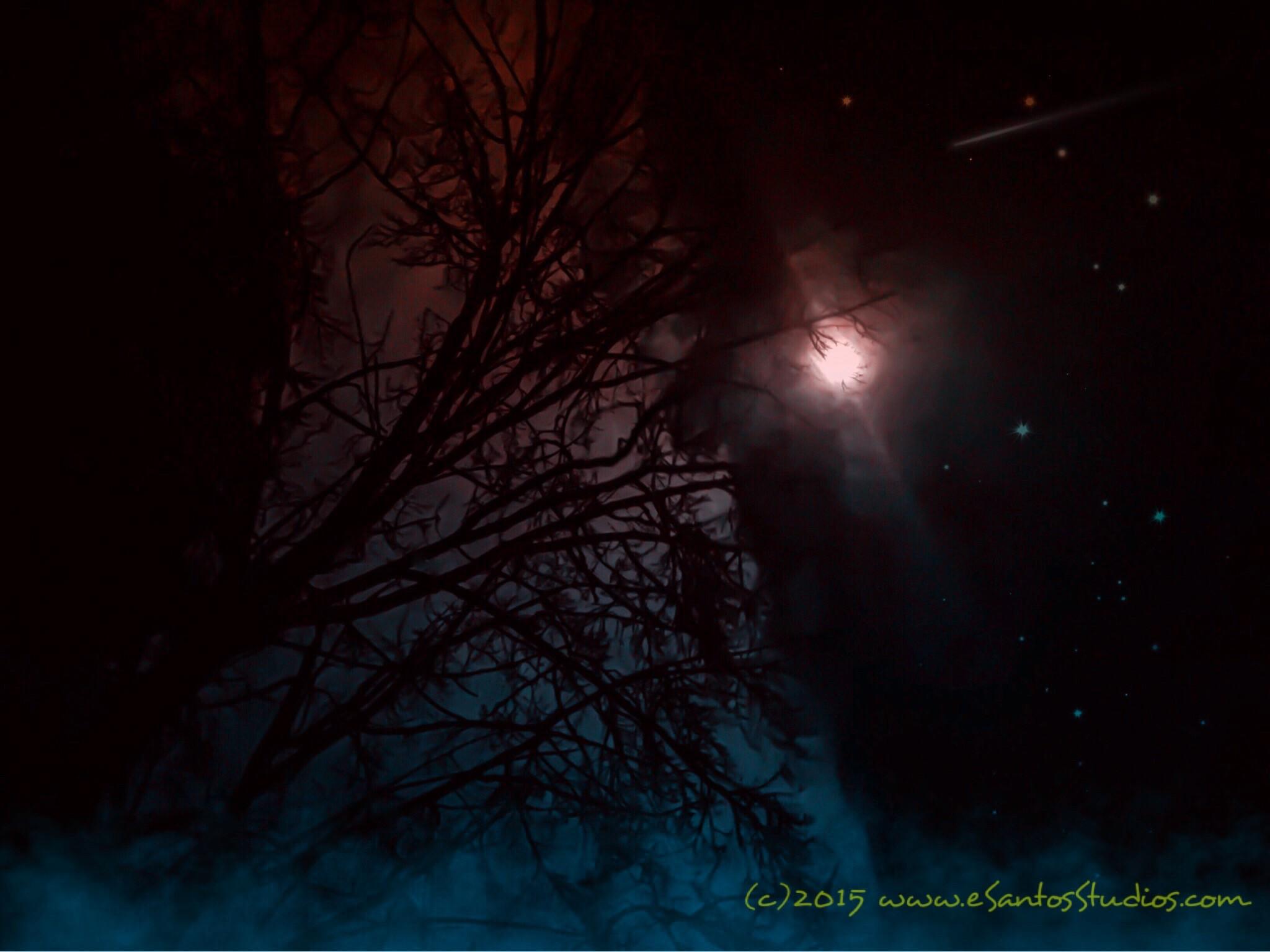 Moon over Misquamicut www.eSantosStudios.com