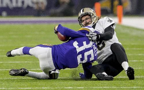 Saints recall tension, tears in Vikings' last playoff visit
