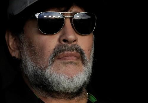 Maradona to miss Cannes film premiere after shoulder injury