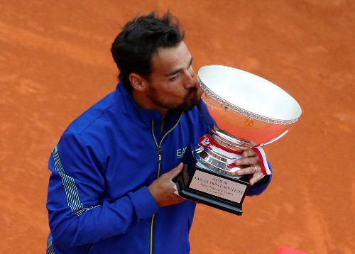 Tennis: Fognini lands maiden Masters title in Monte Carlo