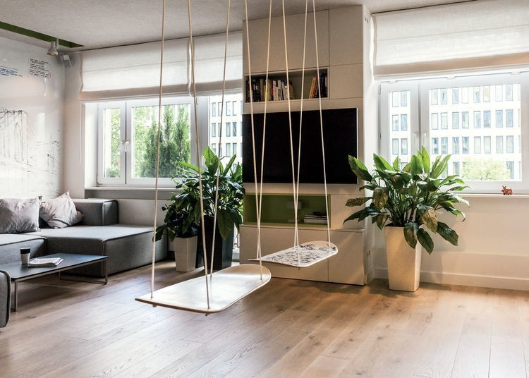 Articles about tiny warsaw studio instantly changes office playroom on Dwell.com - Dwell
