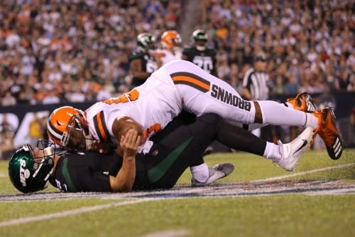 NFL notebook: Browns DE Garrett fined $42,000 for two hits