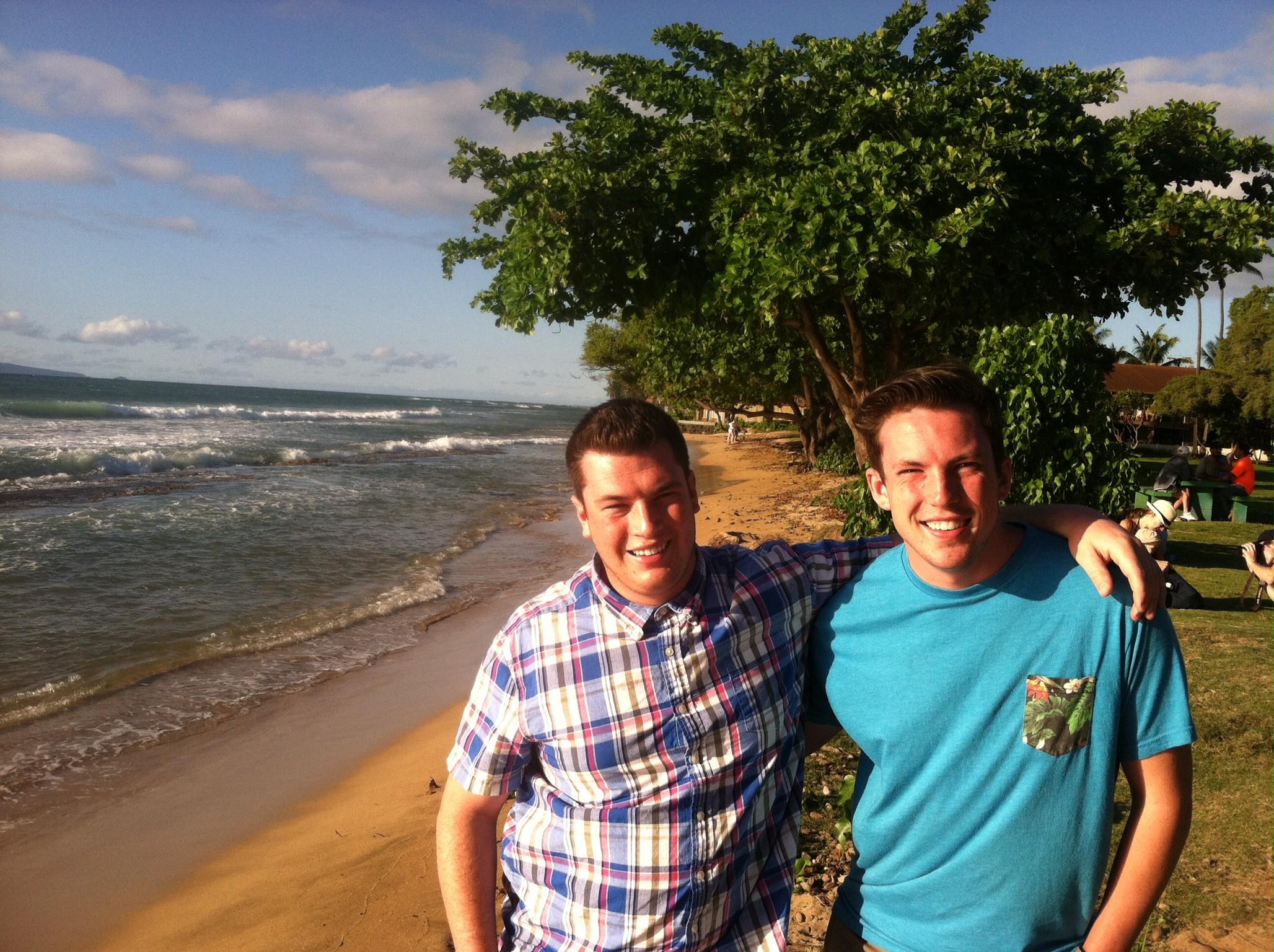 Cole & Kai in Hawaii