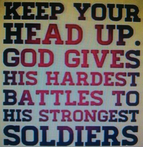"""Don't worry """"HE"""" doesn't put more on you then you can bare... #Prayworks"""