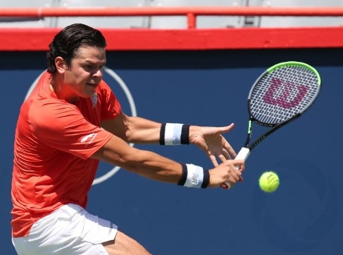Raonic moves on to second round at Rogers Cup