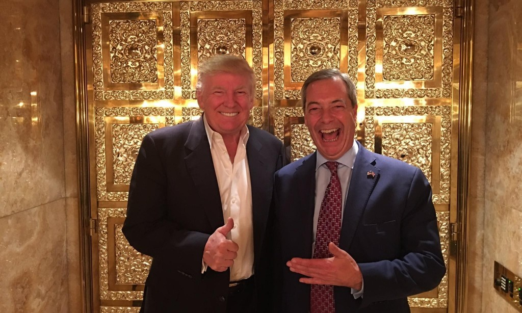 The unholy power of that Farage-Trump buddy photo