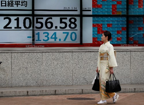 Asian shares steady after steep losses; Saudi comments lift oil