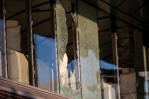 Blast hits tax office in Copenhagen in attack, one person hurt - police