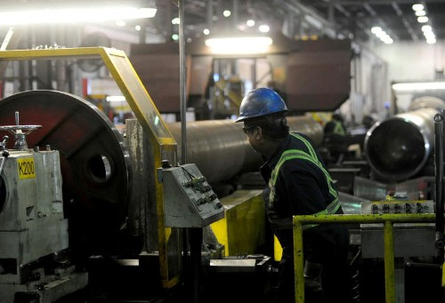 Canadian factory activity rises at fastest pace in seven months