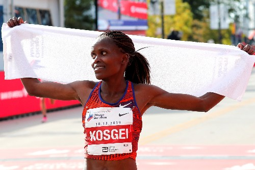 Athletics: Kosgei among 11 nominees for female athlete of the year