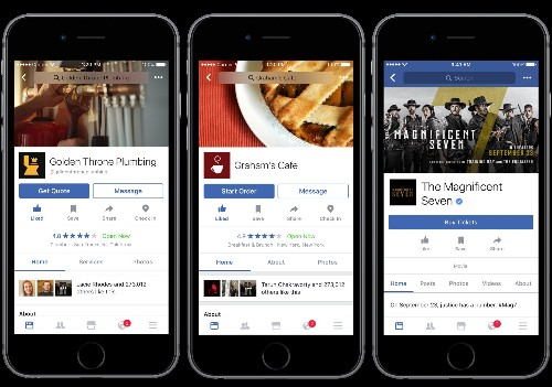 Facebook embraces utility with food ordering, ticketing, and recommendations